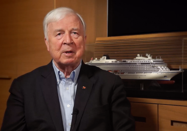 Viking chairman Torstein Hagen declares in a video message that all cruises are cancelled until May 1.
