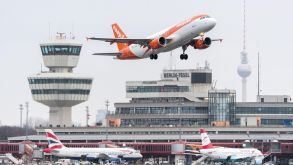 A rarer sight in future: Easyjet is cutting domestic German flights from Berlin.