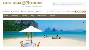 East Asia Tours Homepage