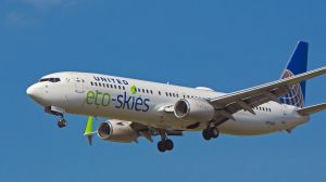 United Airlines, Flugzeug mit Eco-Skies-Label