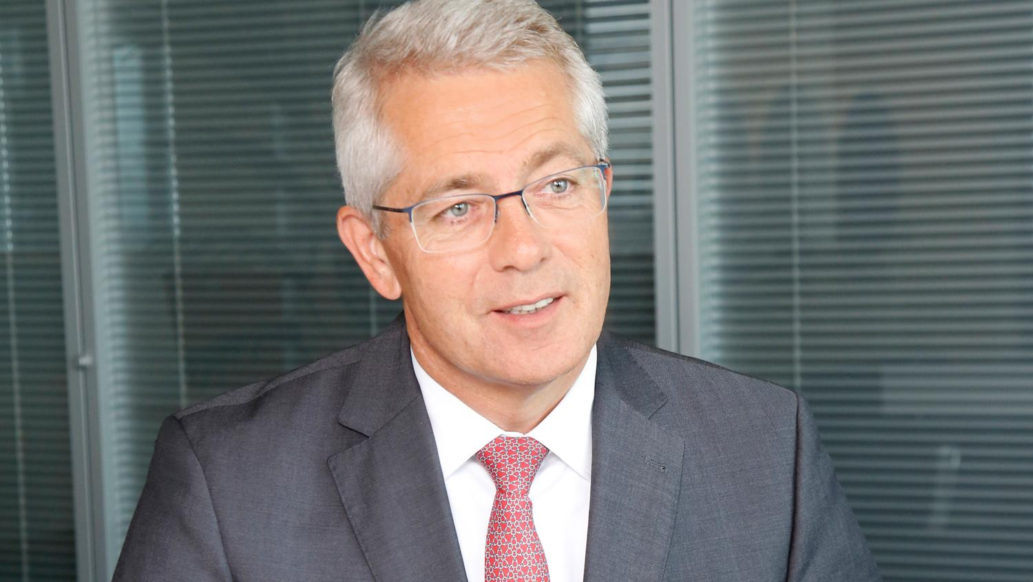 Slightly optimistic: Fraport CEO Stefan Schulte hopes passenger numbers will catch up in the second half of 2021.