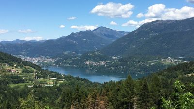 Bella Italia: Self-drive destinations such as Lago di Caldonazzo in Northern Italy will stay in high demand with German holidaymakers.