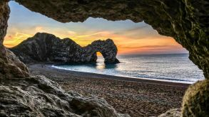 Durdle Door an der Jurassic Coast.