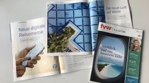 Colourful pages, exciting stories, useful information: This is the new fvw | TravelTalk magazine.