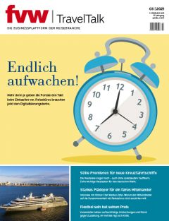 Cover fvw | TravelTalk 3/21 hochkant