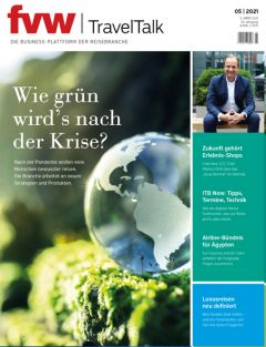 Cover fvw | TravelTalk 5/21 hochkant