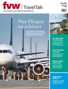 Cover fvw | TravelTalk 9/21 hochkant für Newsletter