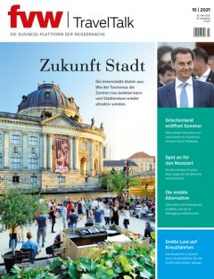 fvw | TravelTalk 10/2021 Cover hochkant